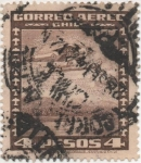 Stamps Chile -  Y & T Nº 41 Aéreo