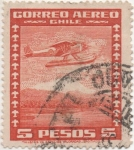 Sellos de America - Chile -  Y & T Nº 42 [1] Aéreo