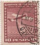 Sellos del Mundo : America : Chile : Y & T Nº 45 Aéreo