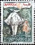 Stamps Denmark -  Scott#733 intercambio, 0,30 usd, 2,00 coronas 1983