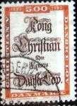 Sellos de Europa - Dinamarca -  Scott#741 intercambio, 0,60 usd, 5,00 coronas 1983