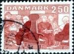Sellos de Europa - Dinamarca -  Scott#746 intercambio, 0,30 usd, 2,50 coronas 1983
