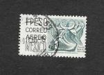 Stamps Mexico -  Danzas