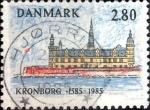 sellos de Europa - Dinamarca -  Scott#783 intercambio, 0,25 usd, 2,80 coronas 1985