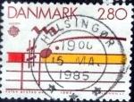 Sellos de Europa - Dinamarca -  Scott#773 intercambio, 0,35 usd, 2,80 coronas 1985