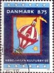 sellos de Europa - Dinamarca -  Scott#1043 intercambio, 3,00 usd, 8,75 coronas 1996