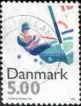 sellos de Europa - Dinamarca -  Scott#1048 intercambio, 0,50 usd, 5,00 coronas 1996