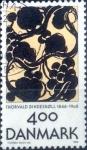 Sellos de Europa - Dinamarca -  Scott#1060 intercambio, 1,10 usd, 4,00 coronas 1996