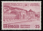 Stamps Asia - Sri Lanka -  SRI LANKA - Ciudad sagrada de Kandy