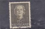 sellos de Europa - Holanda -  Reina Juliana Regina
