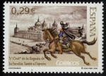 Stamps Spain -  España - Monasterio y Sitio del Escorial, Madrid