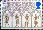 Sellos de Europa - Reino Unido -  Scott#1294 intercambio, 0,30 usd, 15 p. 1989