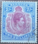 Stamps United Kingdom -  King George Vl. BERMUDA. 1938