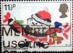Sellos de Europa - Reino Unido -  Scott#960 intercambio, 0,25 usd, 11,5 p. 1981