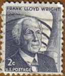 Stamps America - United States -   Frank LLoyd Wright