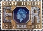 Sellos de Europa - Reino Unido -  Scott#812 mxb intercambio, 0,40 usd, 10 p. 1977