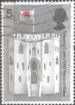 Sellos de Europa - Reino Unido -  Scott#595 intercambio, 0,20 usd, 5 p. 1969