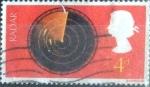 Stamps United Kingdom -  Scott#518 intercambio, 0,20 usd, 4 p. 1967