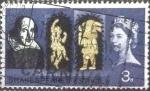 Sellos de Europa - Reino Unido -  Scott#402 intercambio, 0,20 usd, 3 p. 1964
