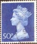 Sellos de Europa - Reino Unido -  Scott#MH167 intercambio, 0,60 usd, 50 p. 1970