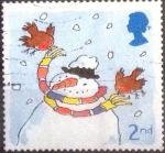 Sellos de Europa - Reino Unido -  Scott#2002 intercambio, 0,25 usd, 2nd. 2001