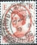 Stamps United Kingdom -  Scott#360 intercambio, 0,20 usd, 4,5 p. 1958