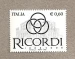 Sellos de Europa - Italia -  Casa Ricordi, edición partituras musicales