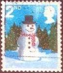 sellos de Europa - Reino Unido -  Scott#2412 nf4b1 intercambio, 0,25 usd, 2nd. 2006
