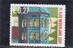 Sellos de Europa - Holanda -  edificio