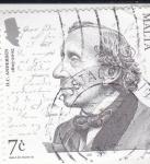 Stamps : Europe : Malta :  H.C.ANDERSEN