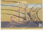 Stamps : Europe : Malta :  carabela