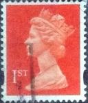 Sellos de Europa - Reino Unido -  Scott#MH297, intercambio, 0,45 usd, 1st. 1998