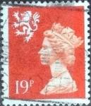 Sellos de Europa - Reino Unido -  Scott#SMH37, intercambio, 0,80 usd, 19 p. 1988