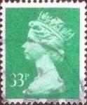 Sellos de Europa - Reino Unido -  Scott#MH146, intercambio, 1,90 usd, 33 p. 1990