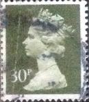Stamps United Kingdom -  Scott#MH141, intercambio, 1,40 usd, 30 p. 1989