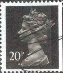 Sellos de Europa - Reino Unido -  Scott#MH115, intercambio, 1,10 usd, 20 p. 1989