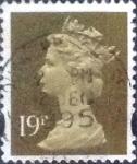 Stamps of the world : United Kingdom :  Scott#MH208, intercambio, 0,70 usd, 19 p. 1993