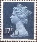 sellos de Europa - Reino Unido -  Scott#MH98 intercambio, 0,35 usd, 17 p. 1990
