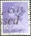 sellos de Europa - Reino Unido -  Scott#MH92 intercambio, 0,60 usd, 15,5 p. 1981