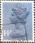 sellos de Europa - Reino Unido -  Scott#MH86 intercambio, 0,60 usd, 14 p. 1981