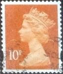 sellos de Europa - Reino Unido -  Scott#MH433 intercambio, 0,25 usd, 10 p. 2013