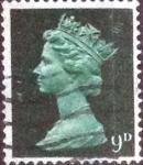 Sellos de Europa - Reino Unido -  Scott#MH13 intercambio, 0,30 usd, 9 p. 1967