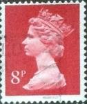 Stamps United Kingdom -  Scott#MH11 intercambio, 0,50 usd, 8 p. 1968