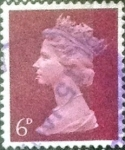 Stamps United Kingdom -  Scott#MH9 intercambio, 0,30 usd, 6 p. 1968