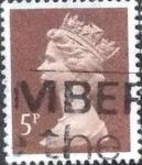 Sellos de Europa - Reino Unido -  Scott#MH55 intercambio, 0,35 usd, 5 p. 1988