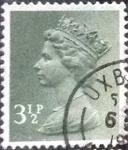 Sellos de Europa - Reino Unido -  Scott#MH39 intercambio, 0,40 usd, 3,5 p. 1974