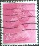 Stamps United Kingdom -  Scott#MH33 intercambio, 0,60 usd, 2,5 p. 1975