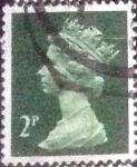 Stamps United Kingdom -  Scott#MH31A intercambio, 0,20 usd, 2 p. 1988