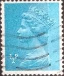 Stamps United Kingdom -  Scott#MH22 intercambio, 0,20 usd, 0,5 p. 1970