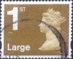 Stamps United Kingdom -  Scott#MH392 intercambio, 0,75 usd, 1st. 2009